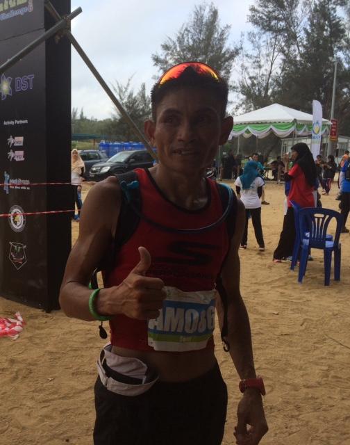 42k winner and local hero Sefli Ahar