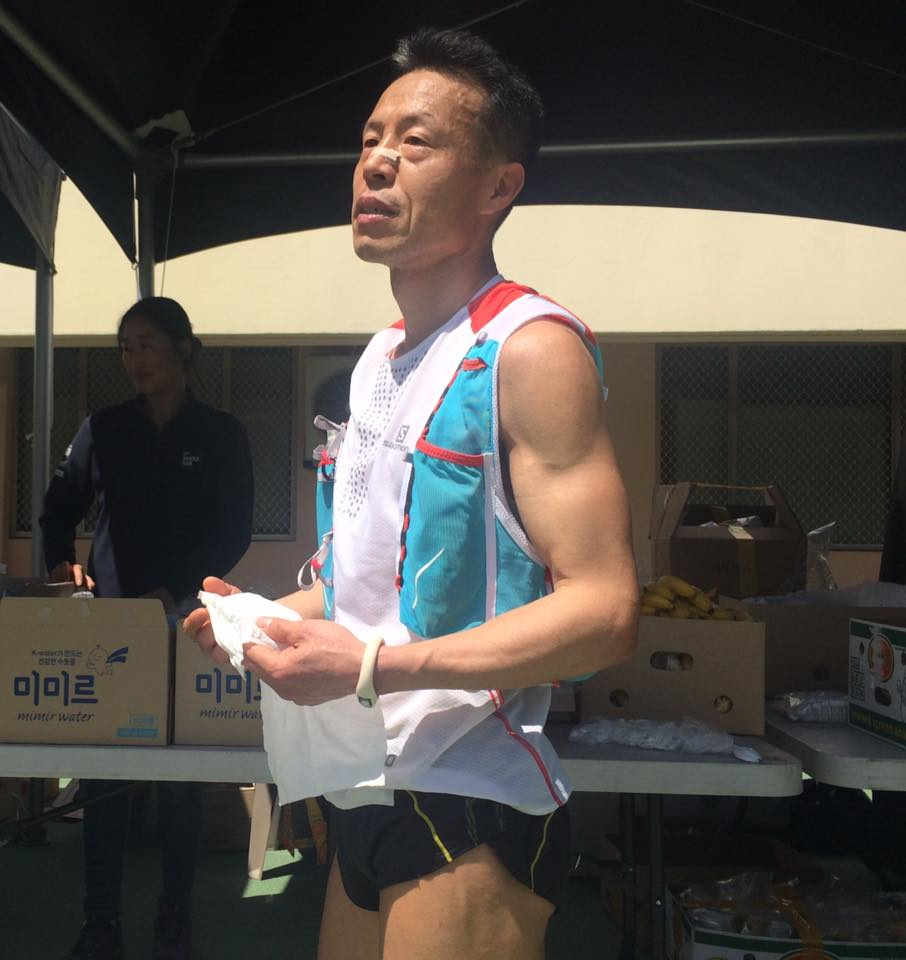Simjae Duk was a bit disappointed with 2nd place this year.