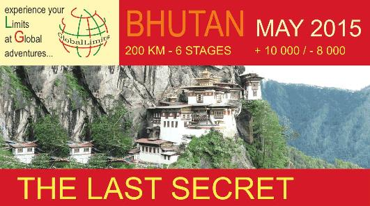 GlobalLimits: the Last Secret (Bhutan) - 27 May (programme start) - Registration deadline 6 May