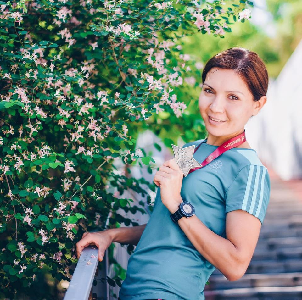 Akmaral Meirman is number 1 in Kazakhstan