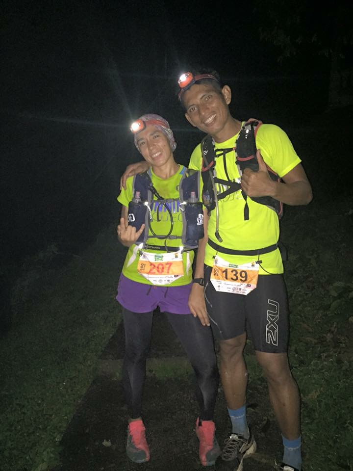 Protagonists guaranteed this weekend: Tahira Najmunisaa and her husband Abdul Rahman