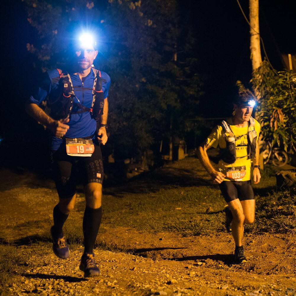 Early leaders: Jason Robinson (103) and Jeremy Verstraete (19)