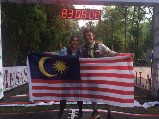 Tahira Najmunisaa ran a superb race and claims the 2016 Asia Trail Master championship
