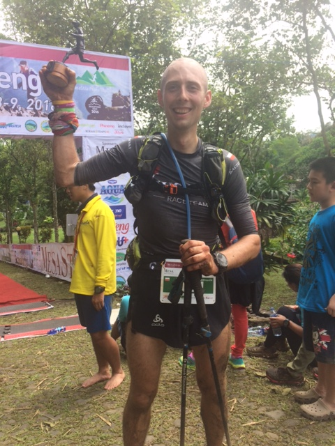 A worthwile trip all the way from Poland: Michal Kaszorowksi, 2nd in 4 Peaks