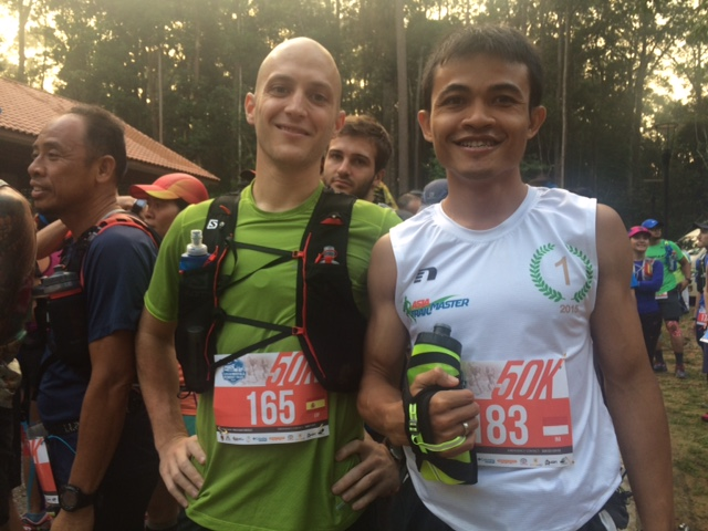 Pablo (left) and Arief (right): 4th and 3rd.
