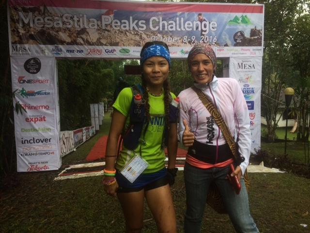 Jessica Lintanga (65k) and Tahira Najmunisaa (100K) won the women's races last year