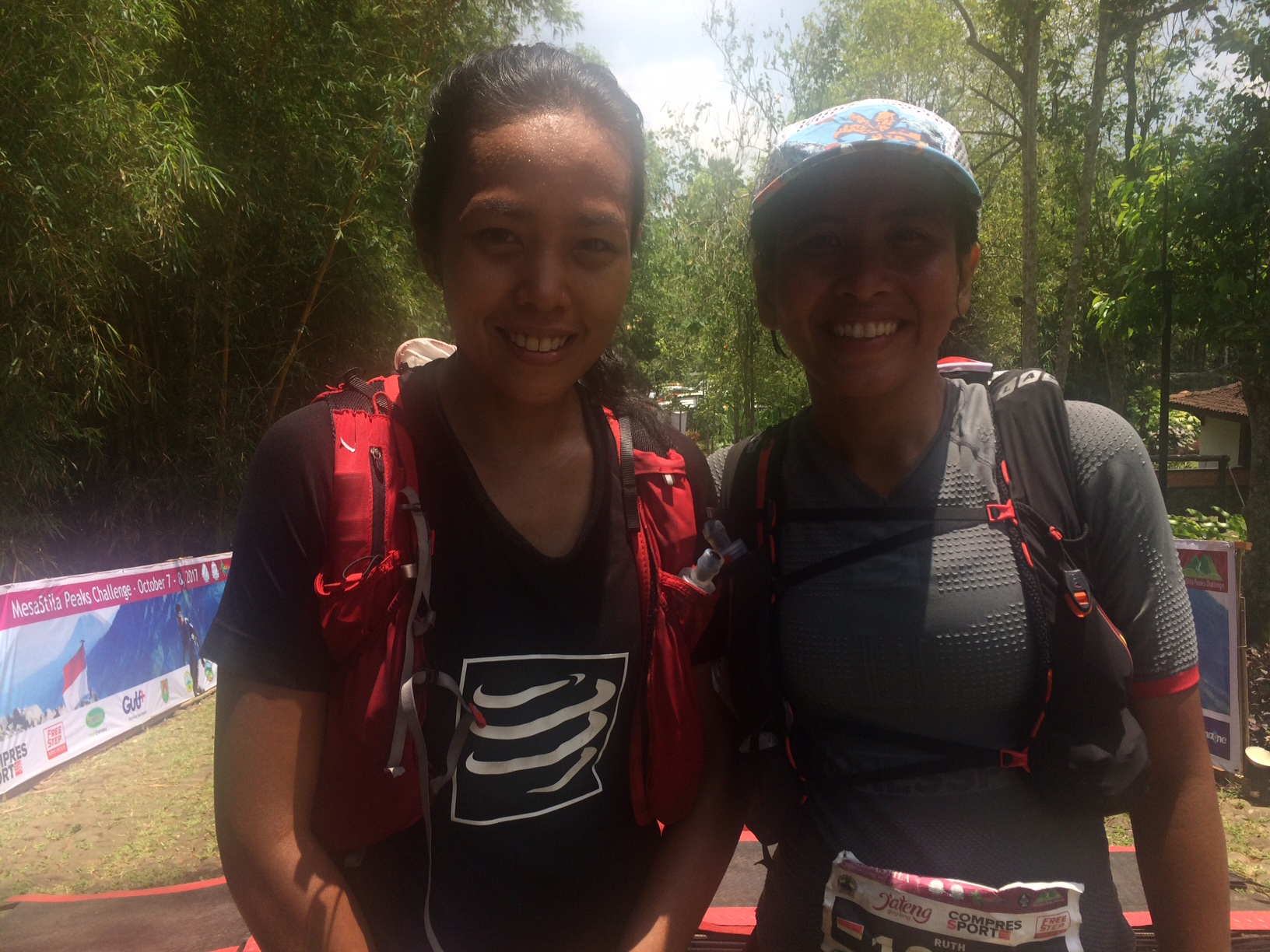 Shindy and Ruth came home together for second, but well behind Tahira