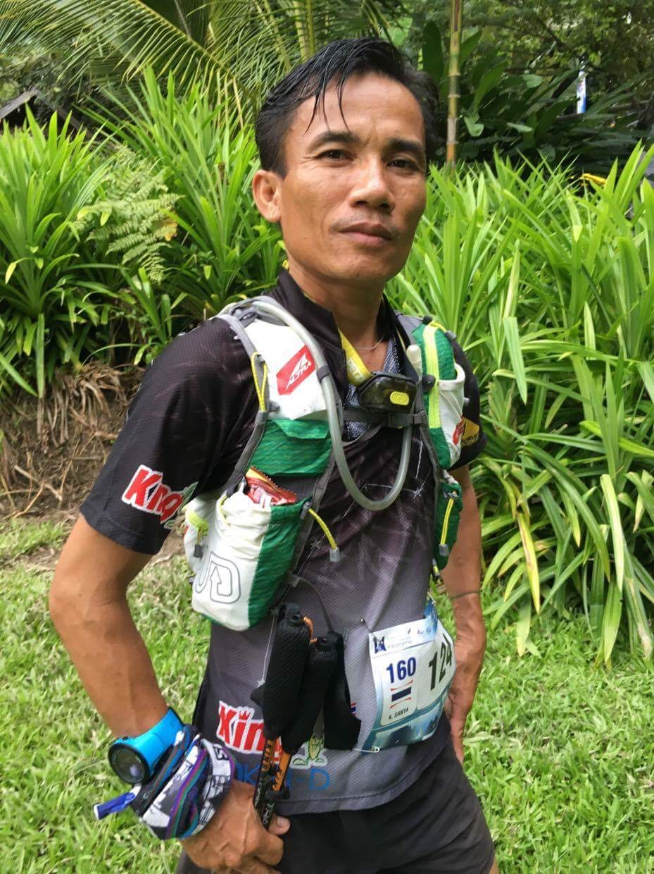 Thailand's Sanya Khancai was second in the men's 100 miles after winning UTN100 in October