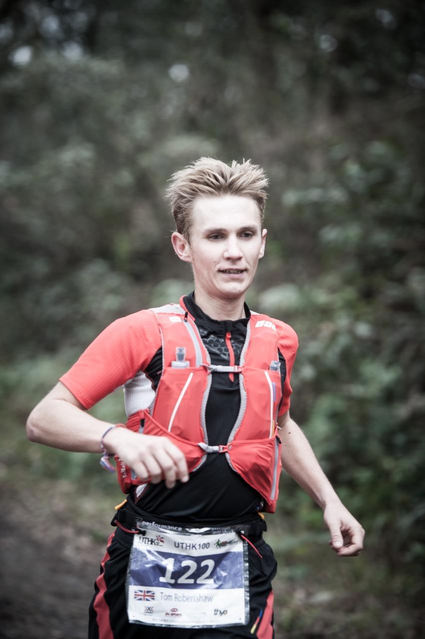Tom Robertshaw, always a potential race winner in ultras