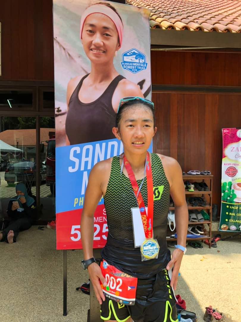 Sandi Menchi: unbeatable on 50K