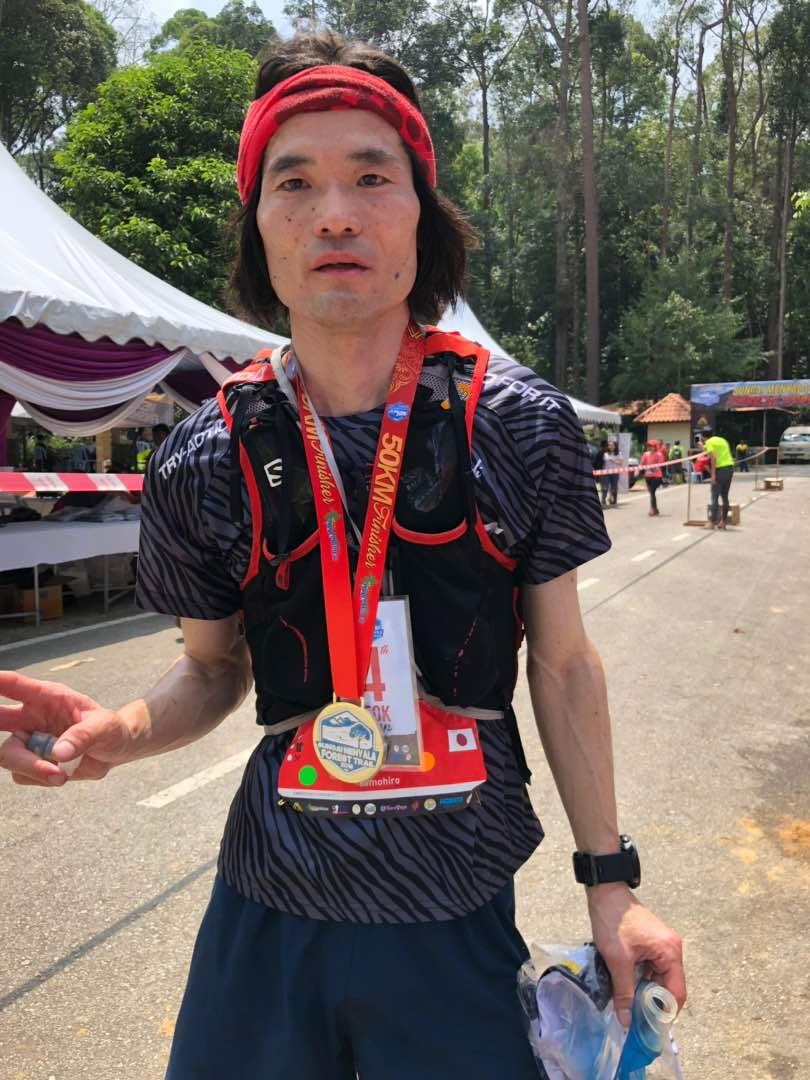 A surprise 4th place for Japan's Tomohiro Mizukoshi