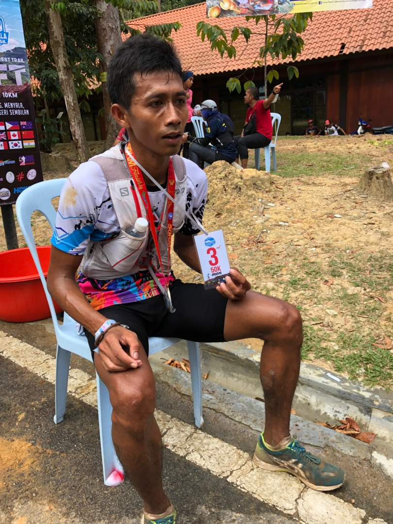 "Indonesian ""speed walker"" Margono is rapidly making a name for himself on medium distance!"