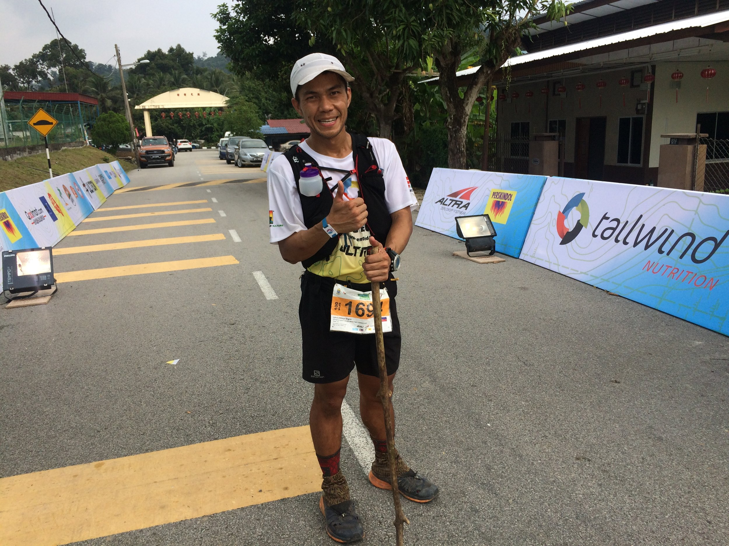 Exhausted but satisfied: Wilnar Iglesia finishes 3rd and is the new ATM championship leader