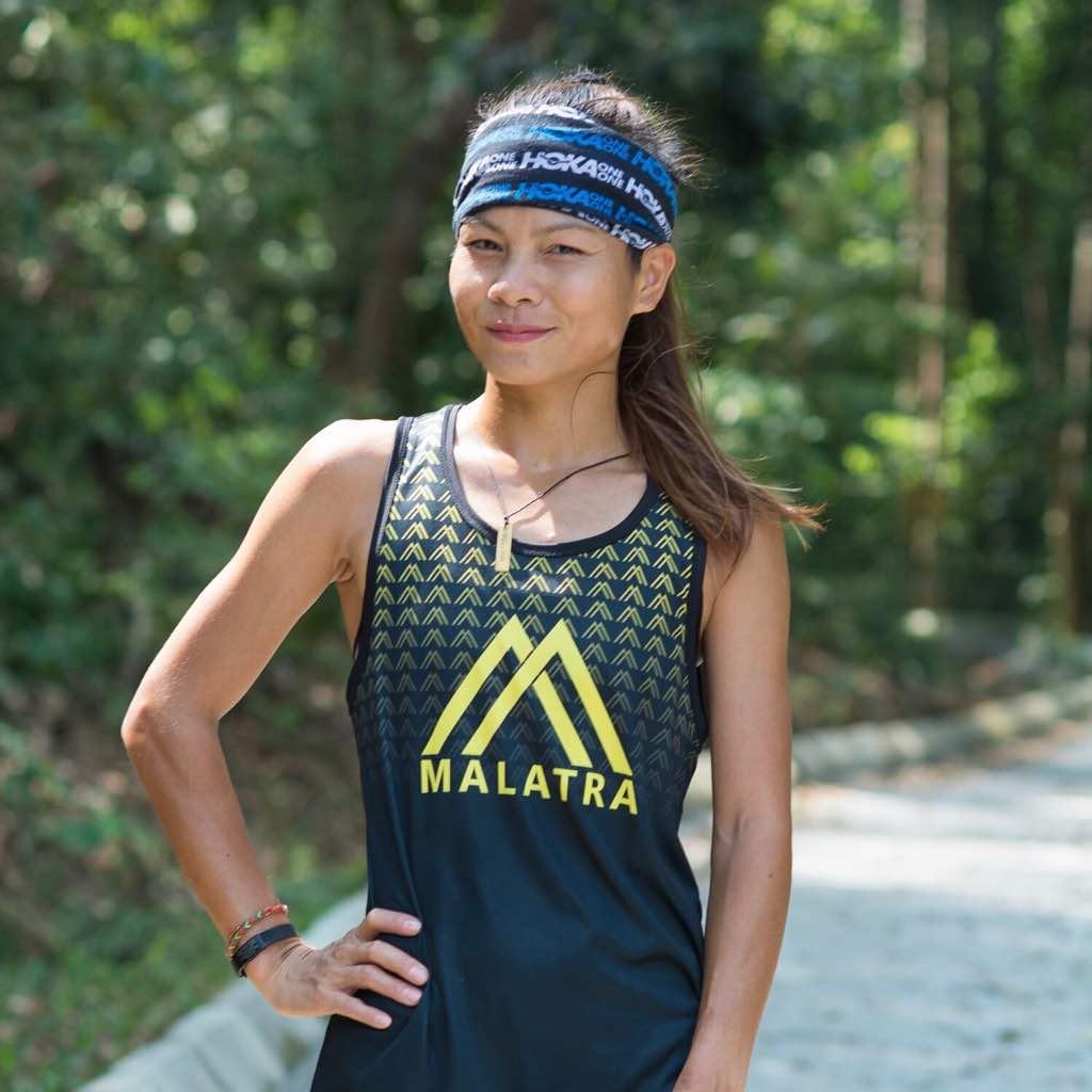 Home-favourite Jassica Lintanga won the 50 km race
