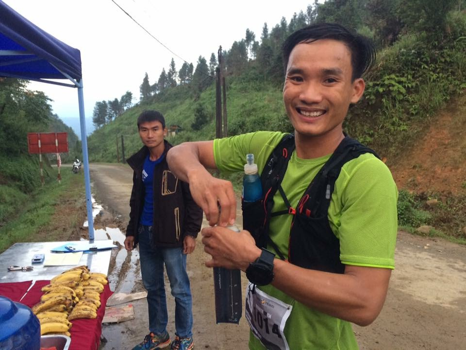 Quang Tran was the big winner last year, this year he is on the 70 km
