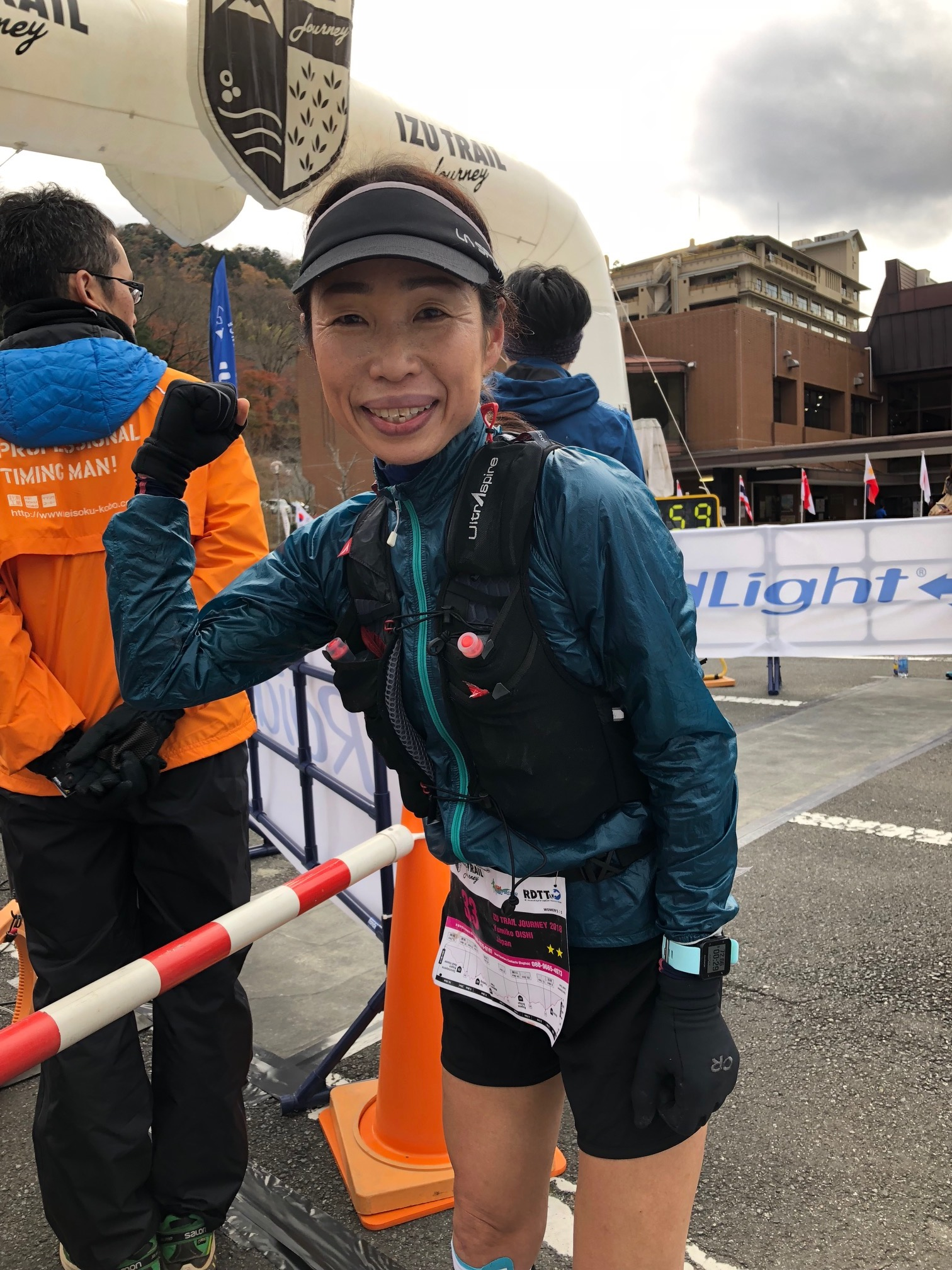 Yumiko Oichi won Izu Trail for a third time, but after long injury troubles, this was special