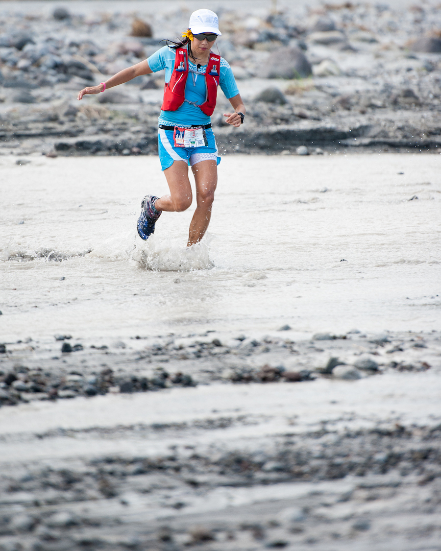 Majo Liao is a favourite to repeat last year's victory in the Akyathlon