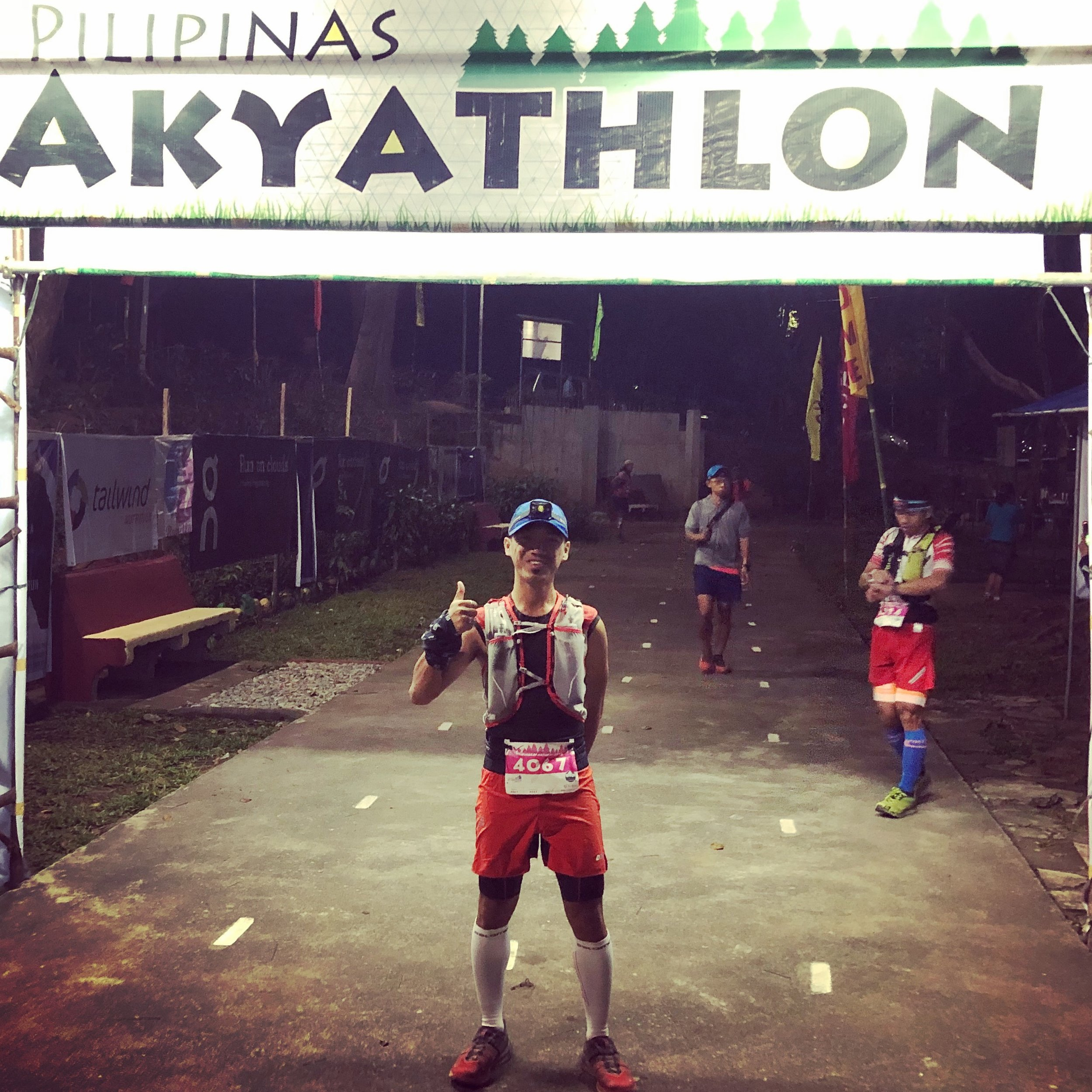 John Eruel Oquino is one of the strongmen who doubled up 9 Dragons 50 miles and Akyathlon
