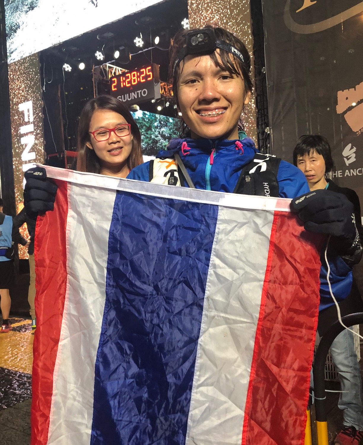 Fantastic second place on the 80K for Thailand's Cartoon Wipawee