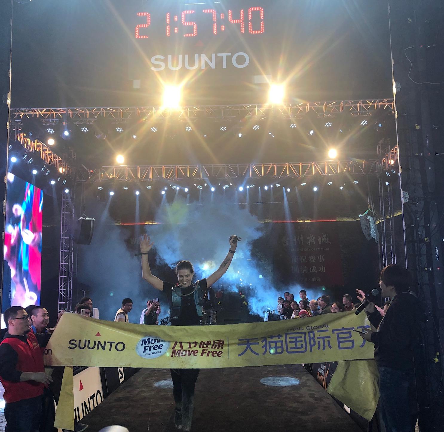 Paulina Svoboda aka Freedom was sick leading up to race weekend but still scored fourth place on the 80k