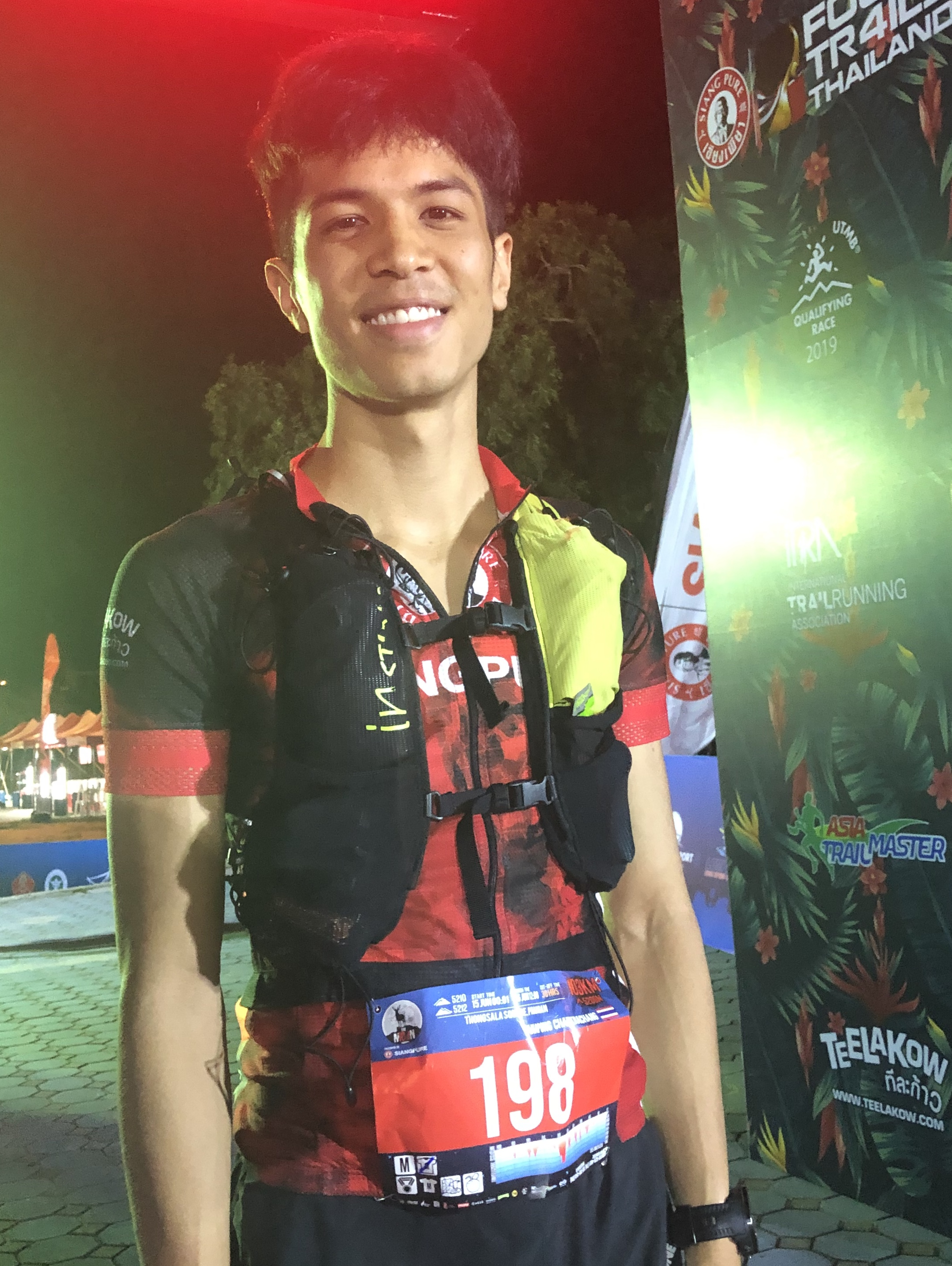 Job Tanapong: new trail star from Chiang Mai