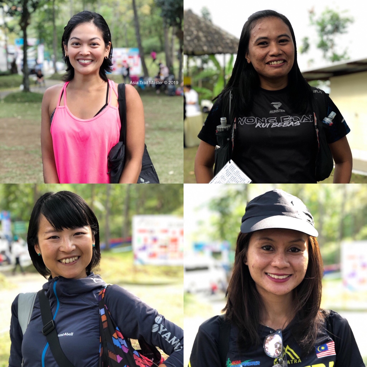 Several women are brave enough to tackle the 116K. This quartet may challenge for podium or more