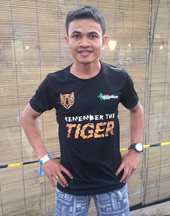 2015 ATM Champion Arief Wismoyono is still going strong on the toughest of terrains