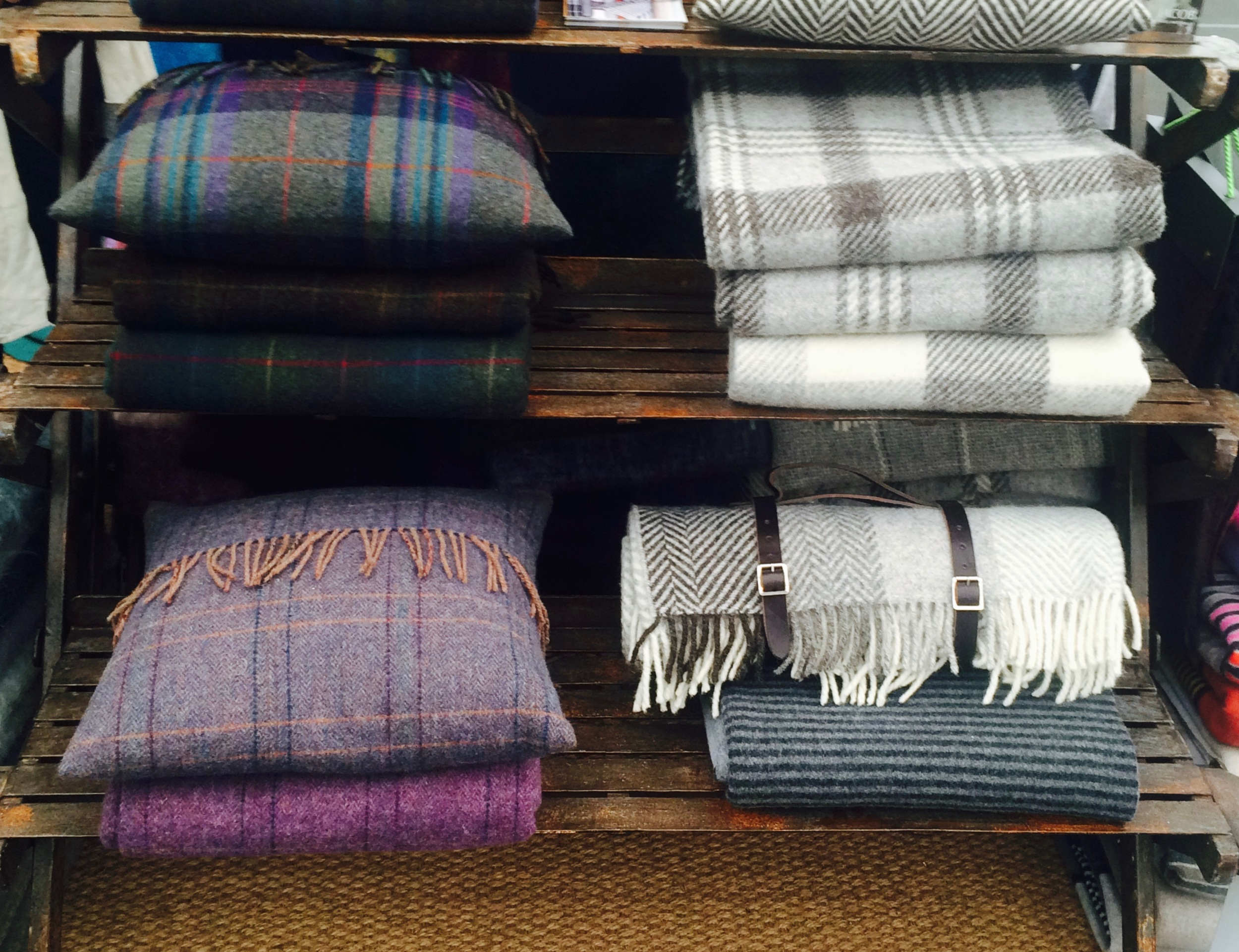 chevrons, checks and country stripes  Green Grove Weavers