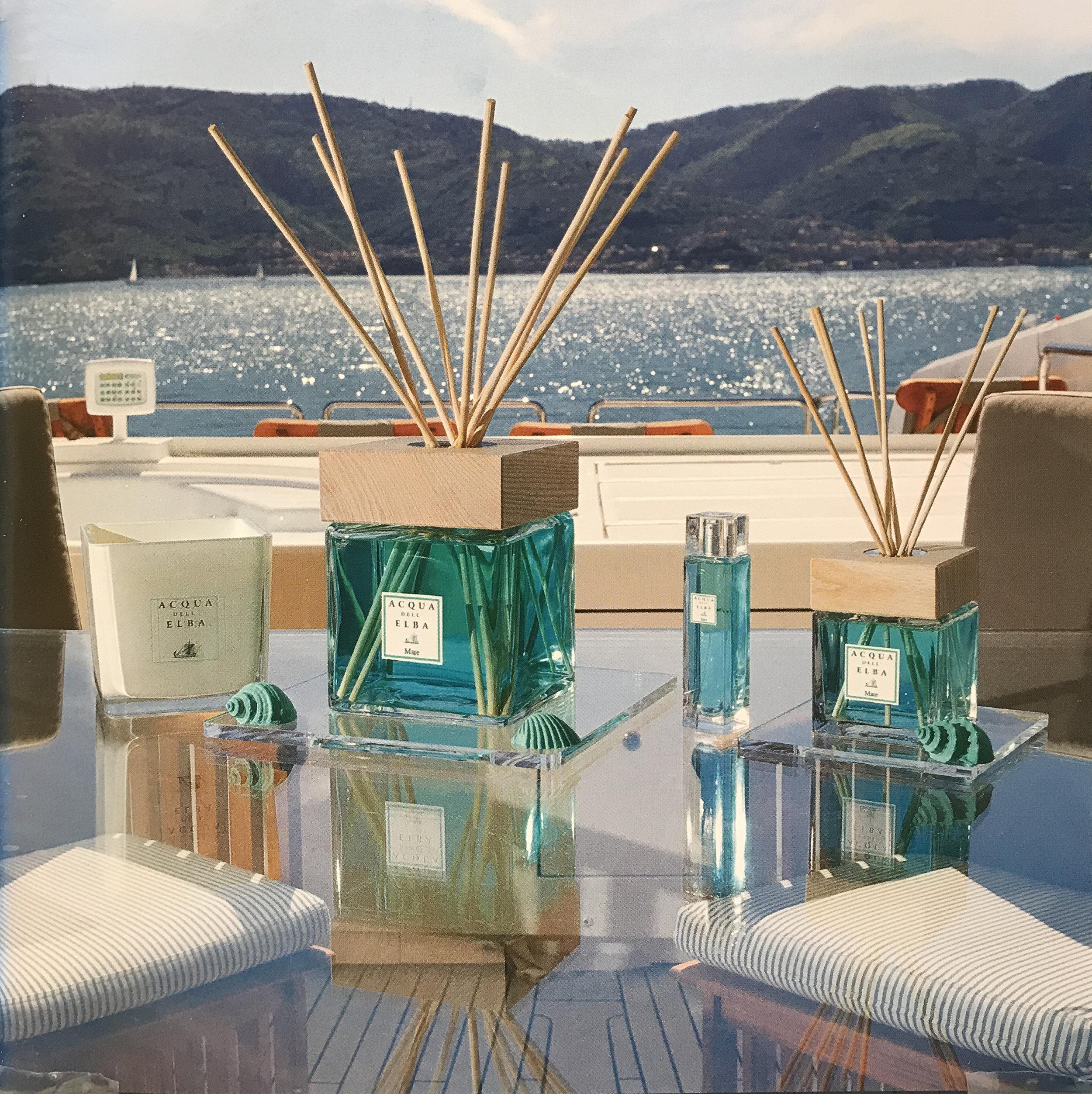 Acqua dell'Elba 'Mare' Collection Ⓒ  Acqua dell'Elba
