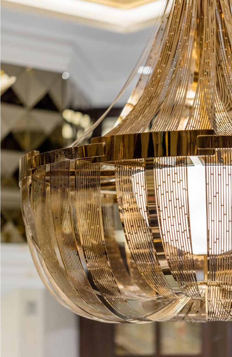 Detail of contemporary lighting installation - Maritime Portfolio Ⓒ  Preciosa