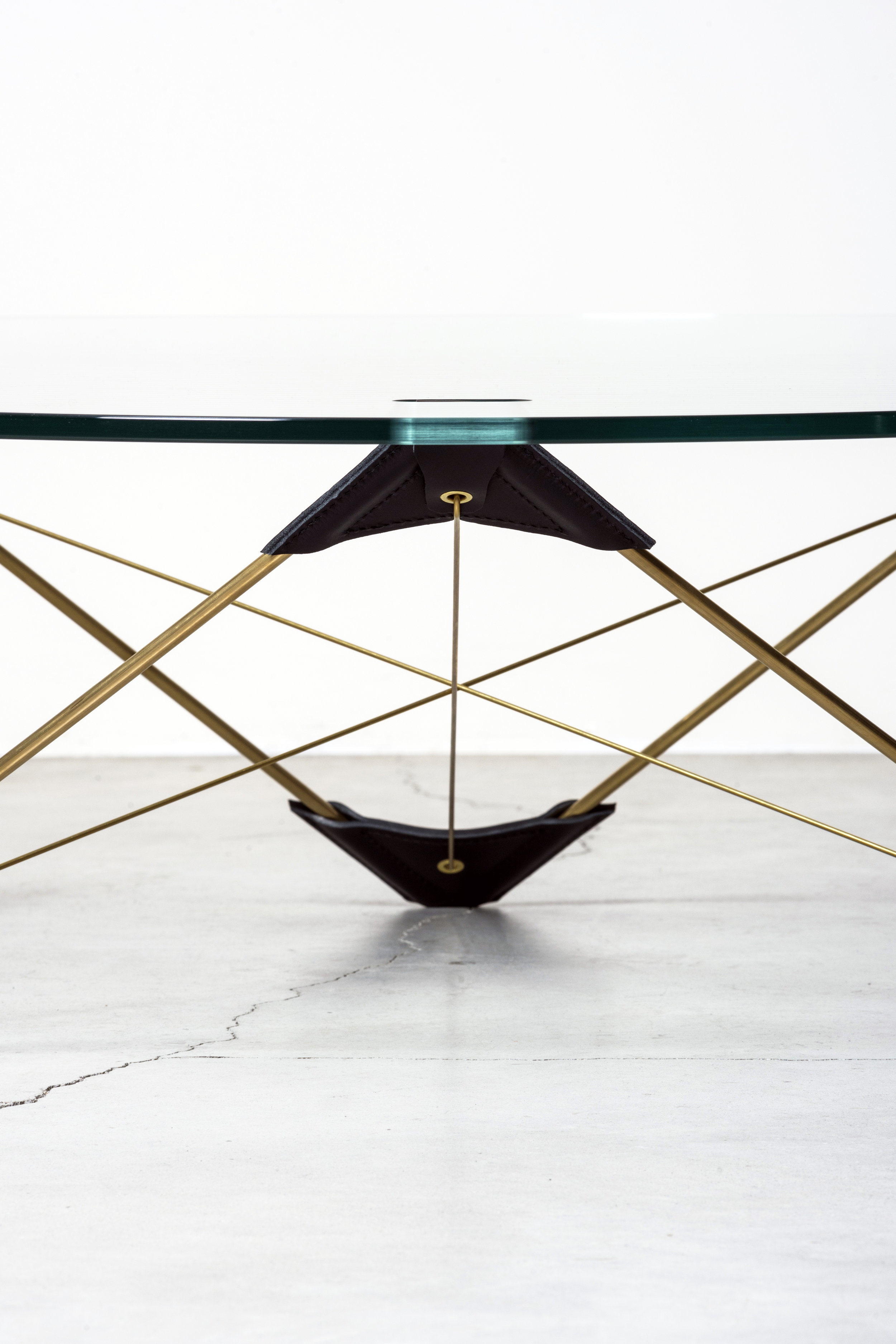 Detail of  Reconvexo  table designed by Atelier LAVIT ©  Daniele Lodice