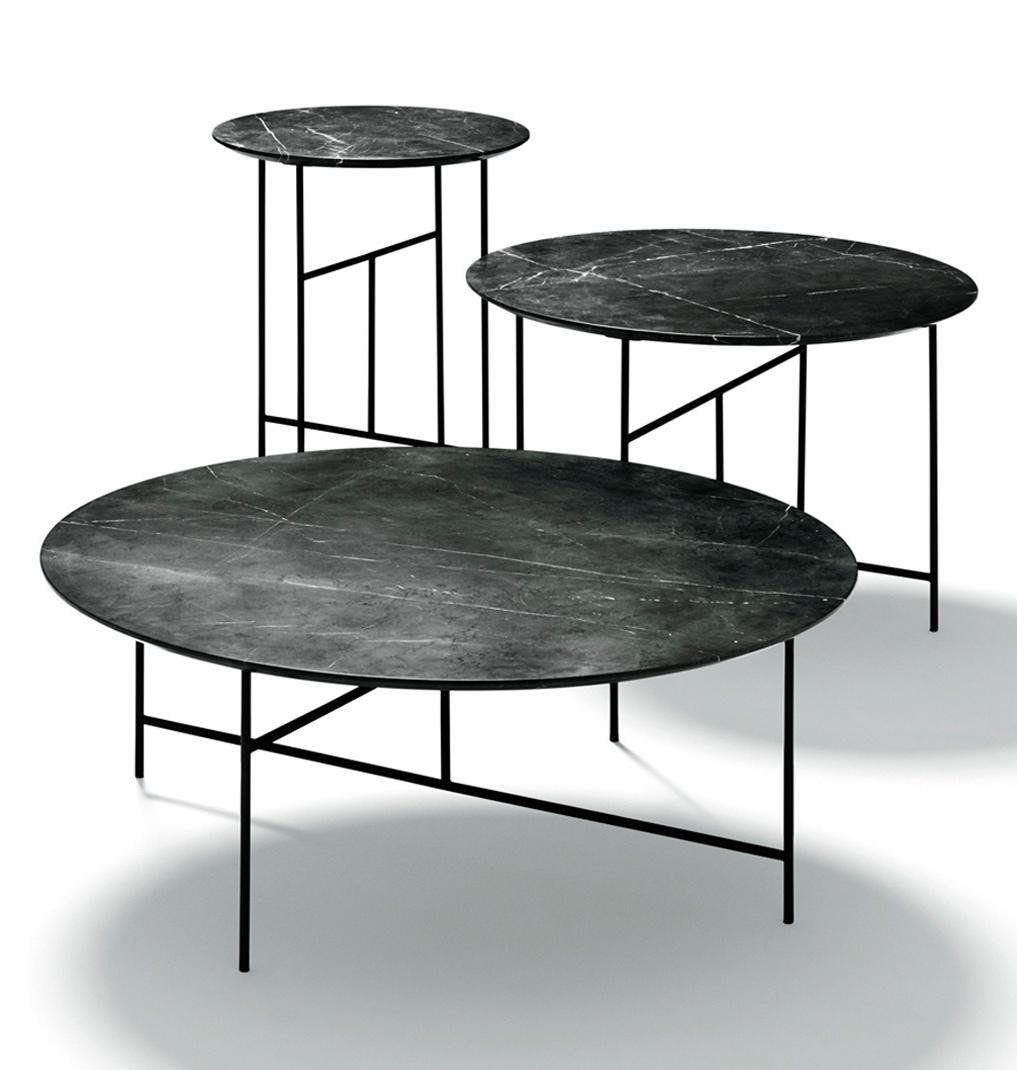 SEN tables designed by Kensaku Oshiro for  DePadova  © Tommaso Sartori