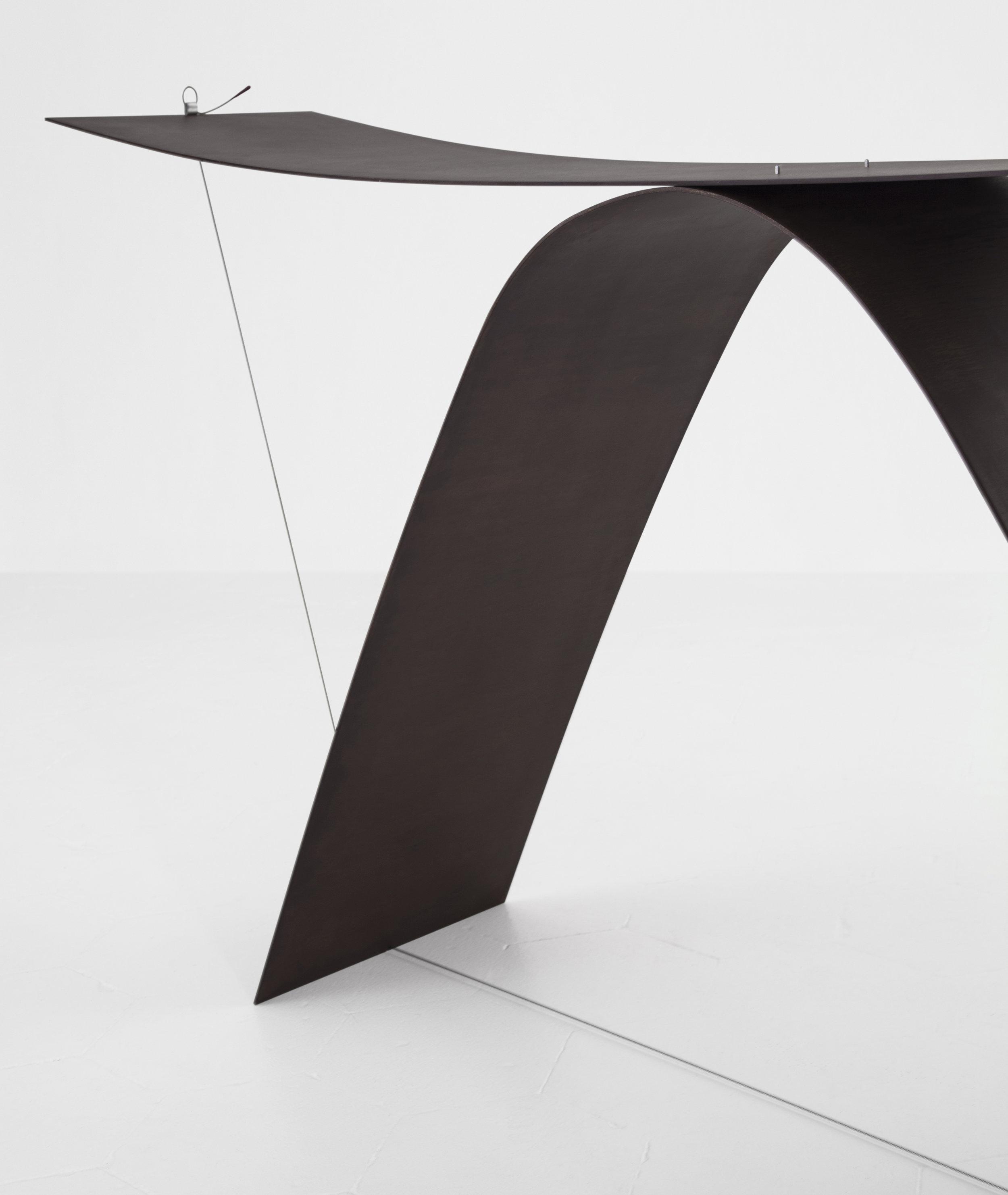 Detail of  Equilibrium  Console designed by Guglielmo Poletti ©  Giulia Piermartiri