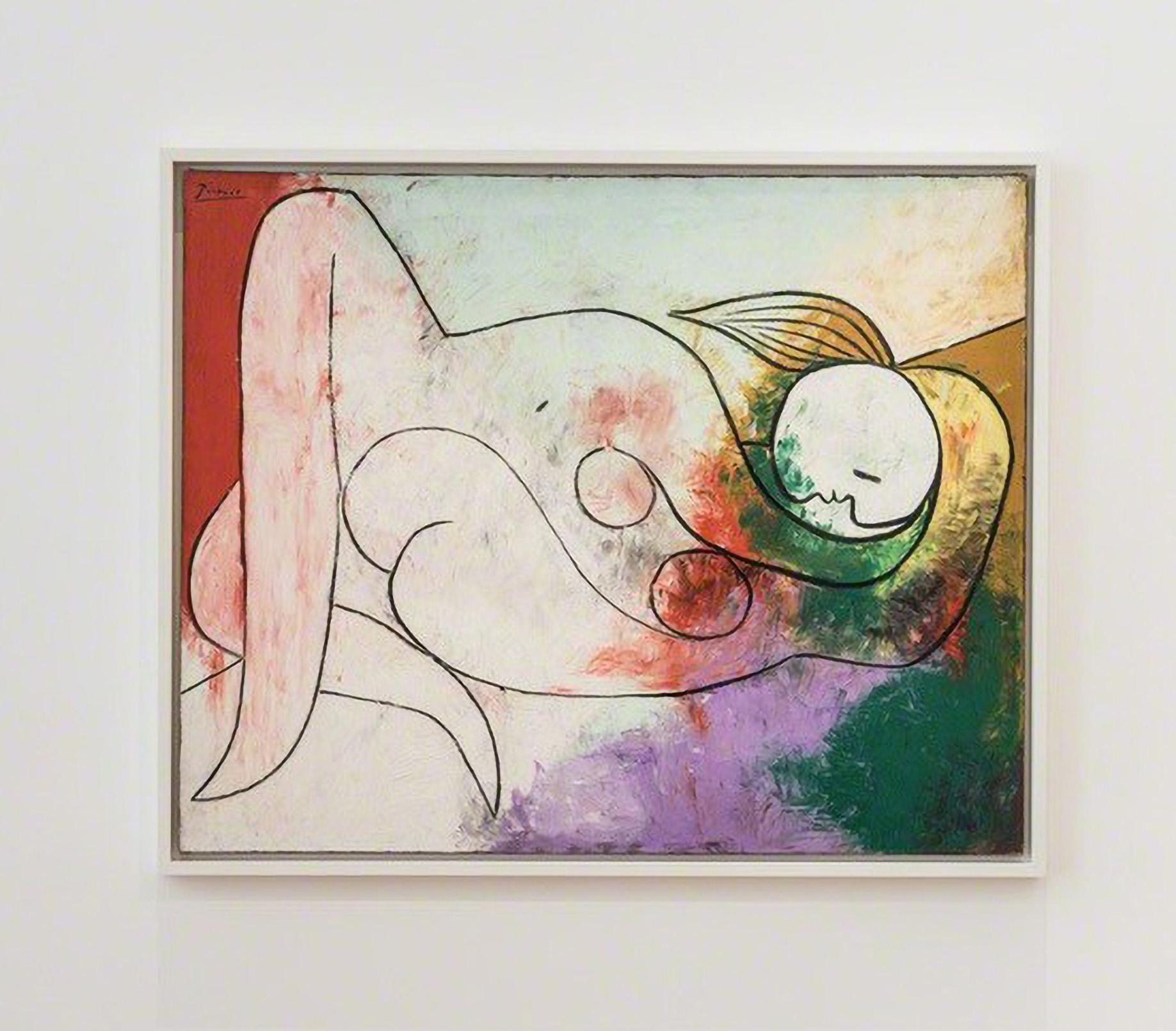 """Pablo Picasso, """"Nu couché à la mèche blonde', 1932, oil on canvas"""