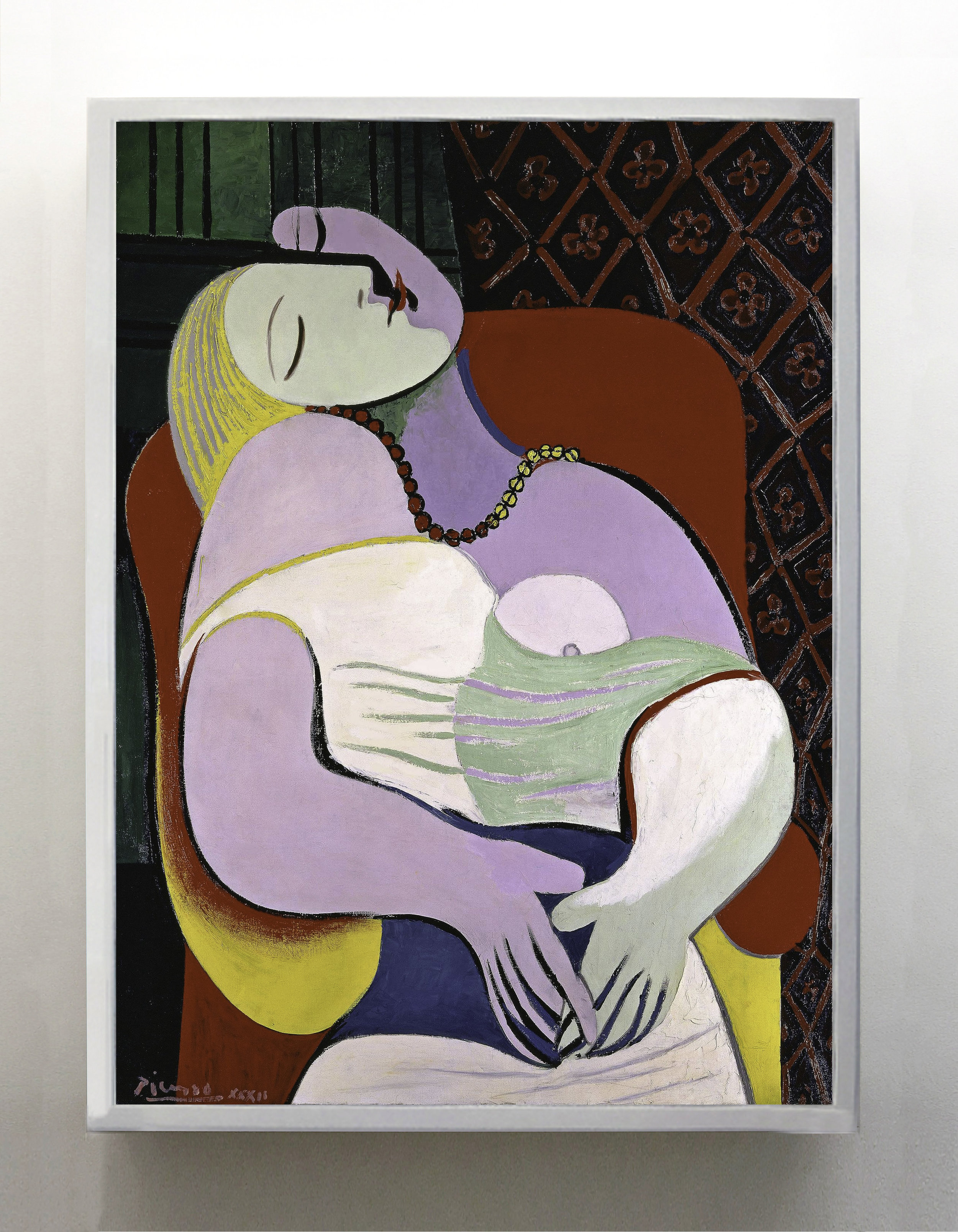 Palbo Picasso 'Le reve' 24 january 1932, oil on canvas, Steve Cohen private collection