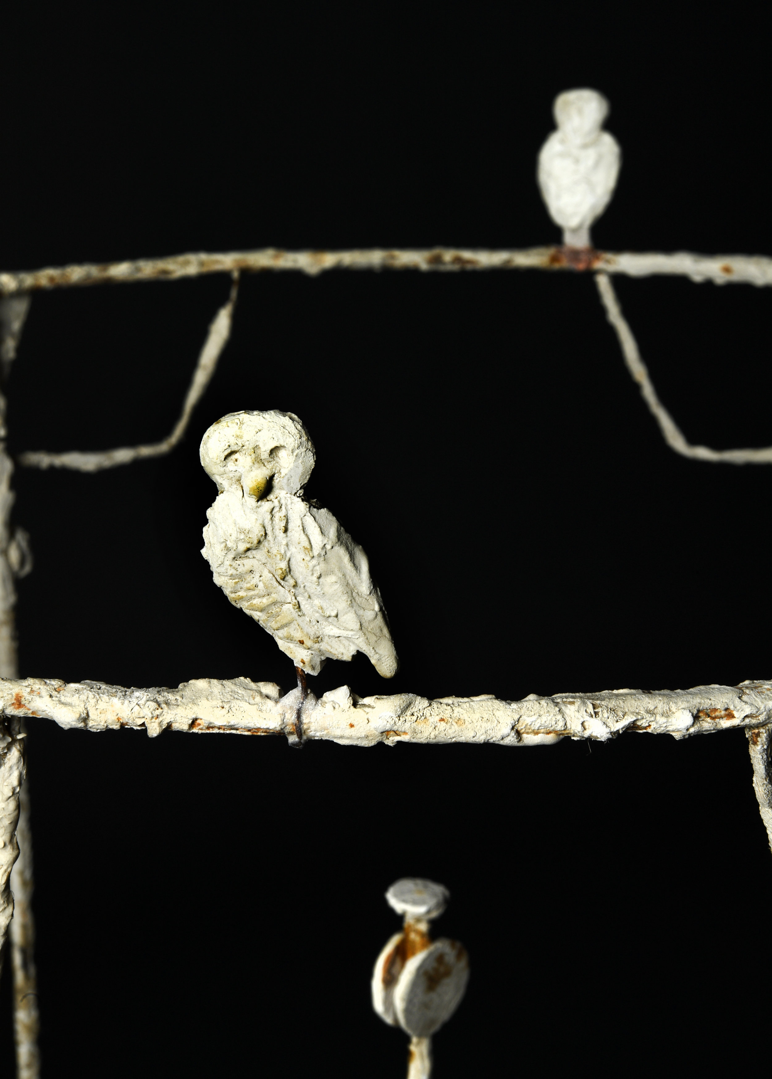 Diego Giacometti (1902-1985)  Bird detail on lantern