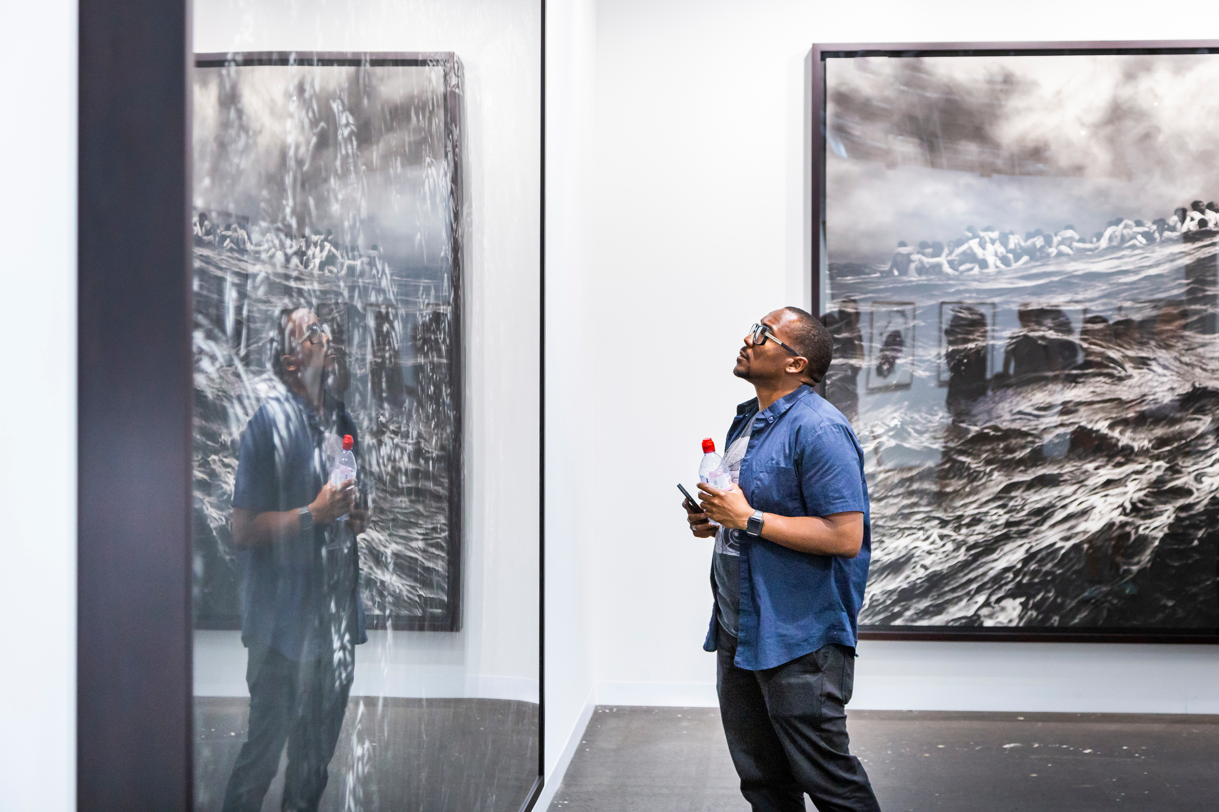 Metro Pictures gallery space at Art Basel 2018 ⓒ Art Basel
