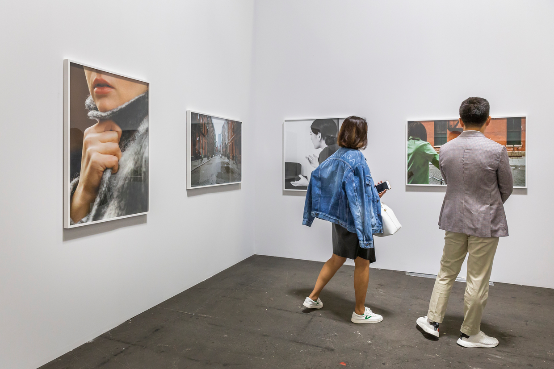 Monica De Cardenas gallery space at Art Basel Unlimited 2018 ⓒArt Basel