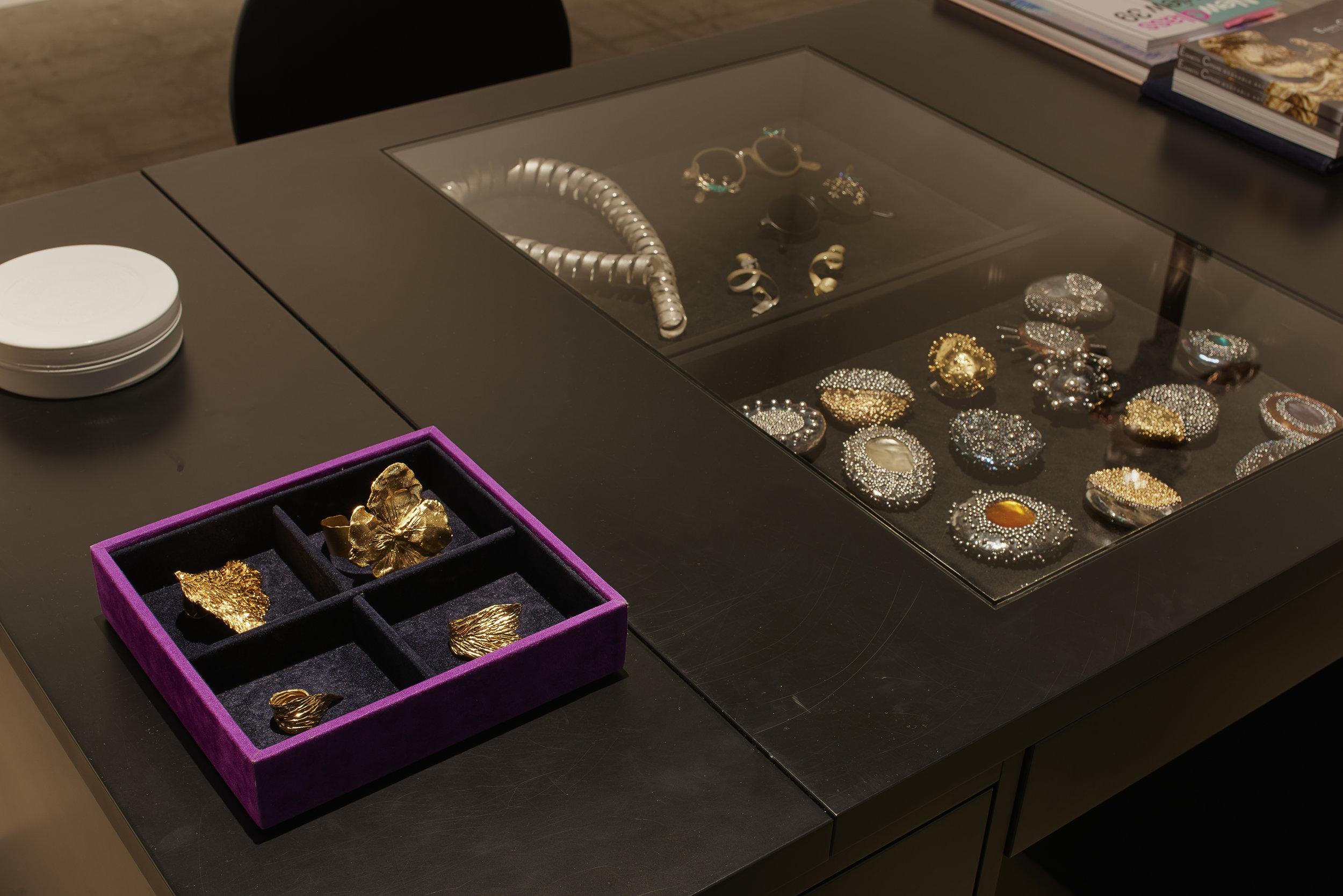 Elisabetta Cipriani jewellery display at Design Miami/ Basel, 12 - 17 June 2018 ⓒ  James Harris