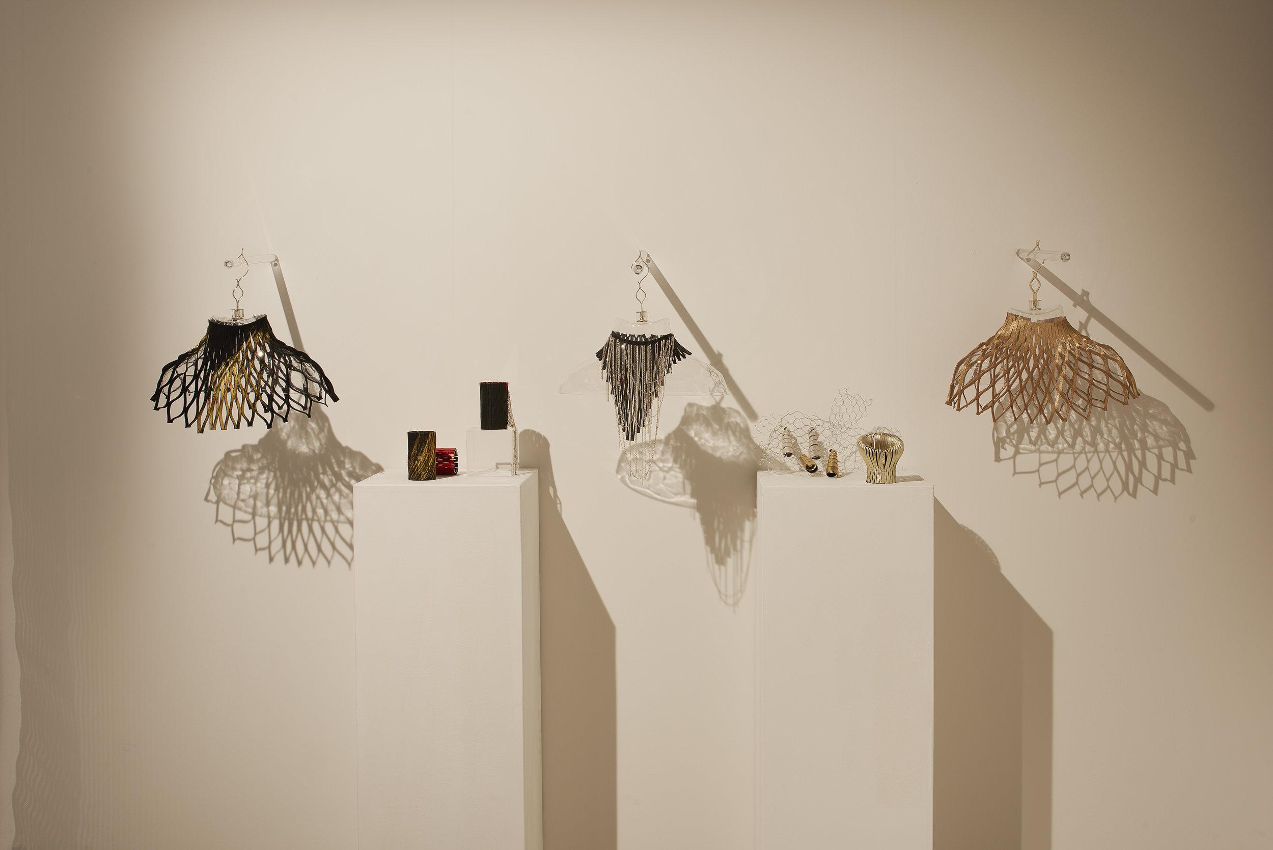 Elisabetta Cipriani jewellery display at Design Miami/ Basel, June 2018 ⓒ  James Harris