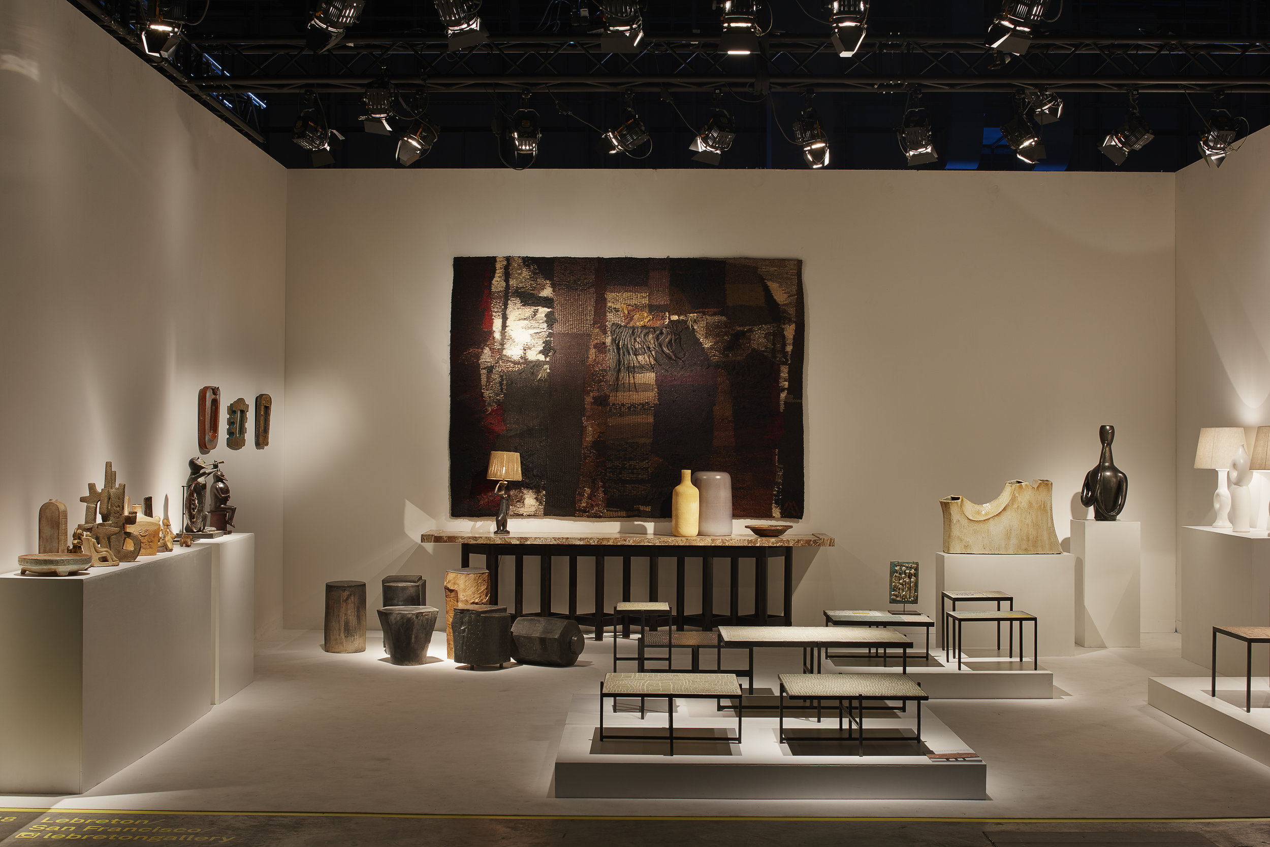 Lebreton Gallery - Design Miami/Basel 2018 ⓒ  James Harris