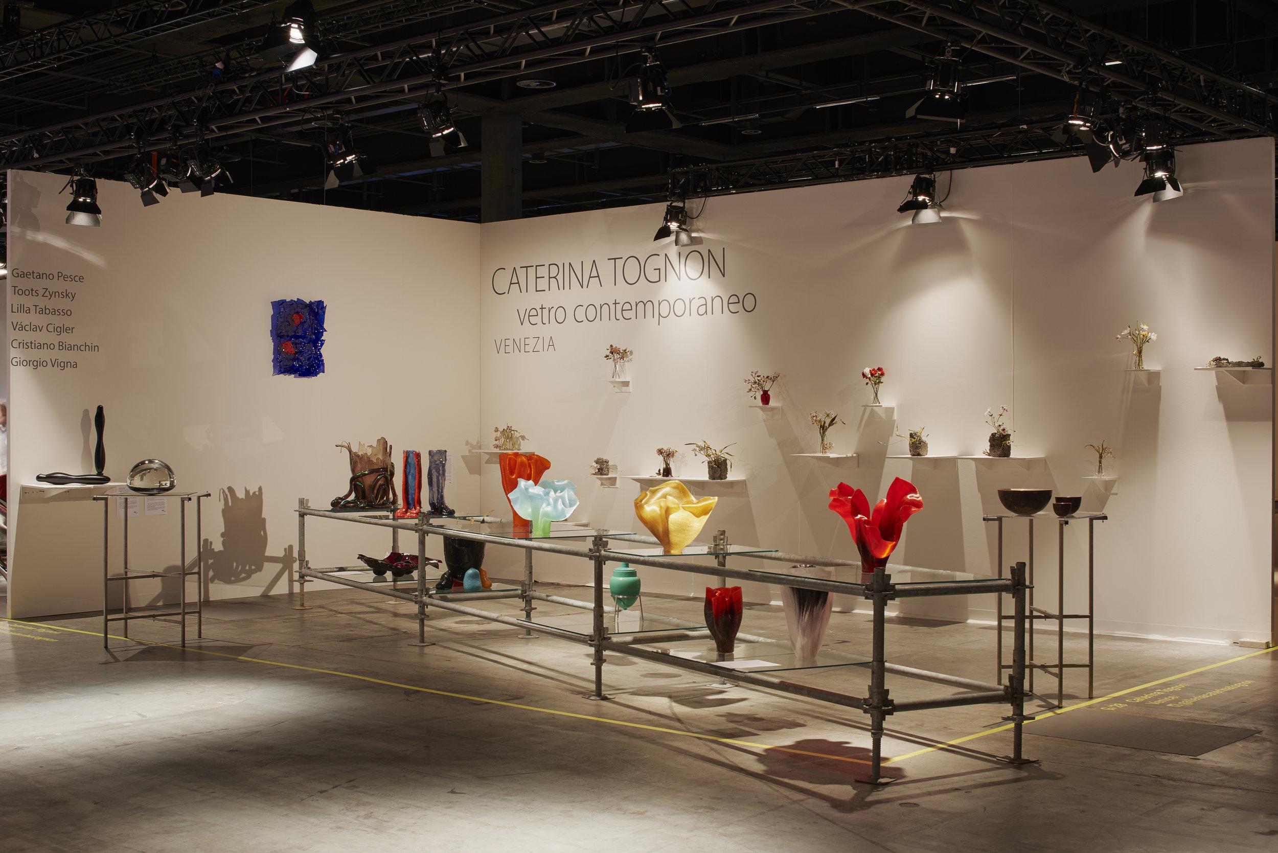 Caterina Tognon stand at Design Miami/ Basel June 2018, ⓒ  James Harris