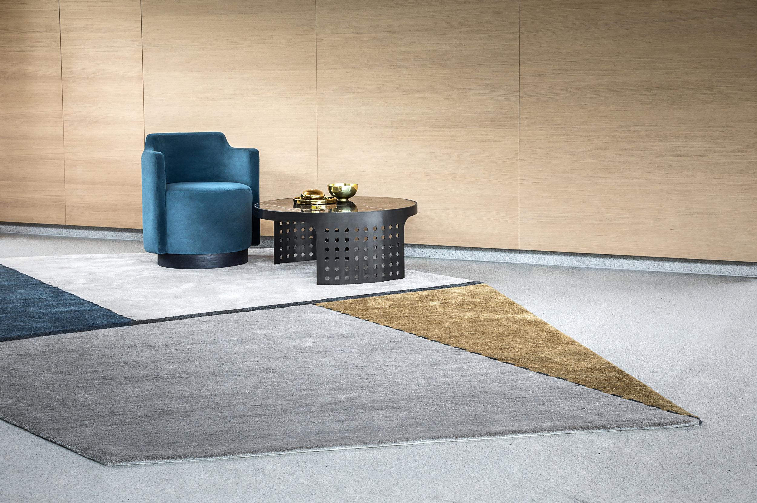 Oblique  rug, detail © Niel Vosloo