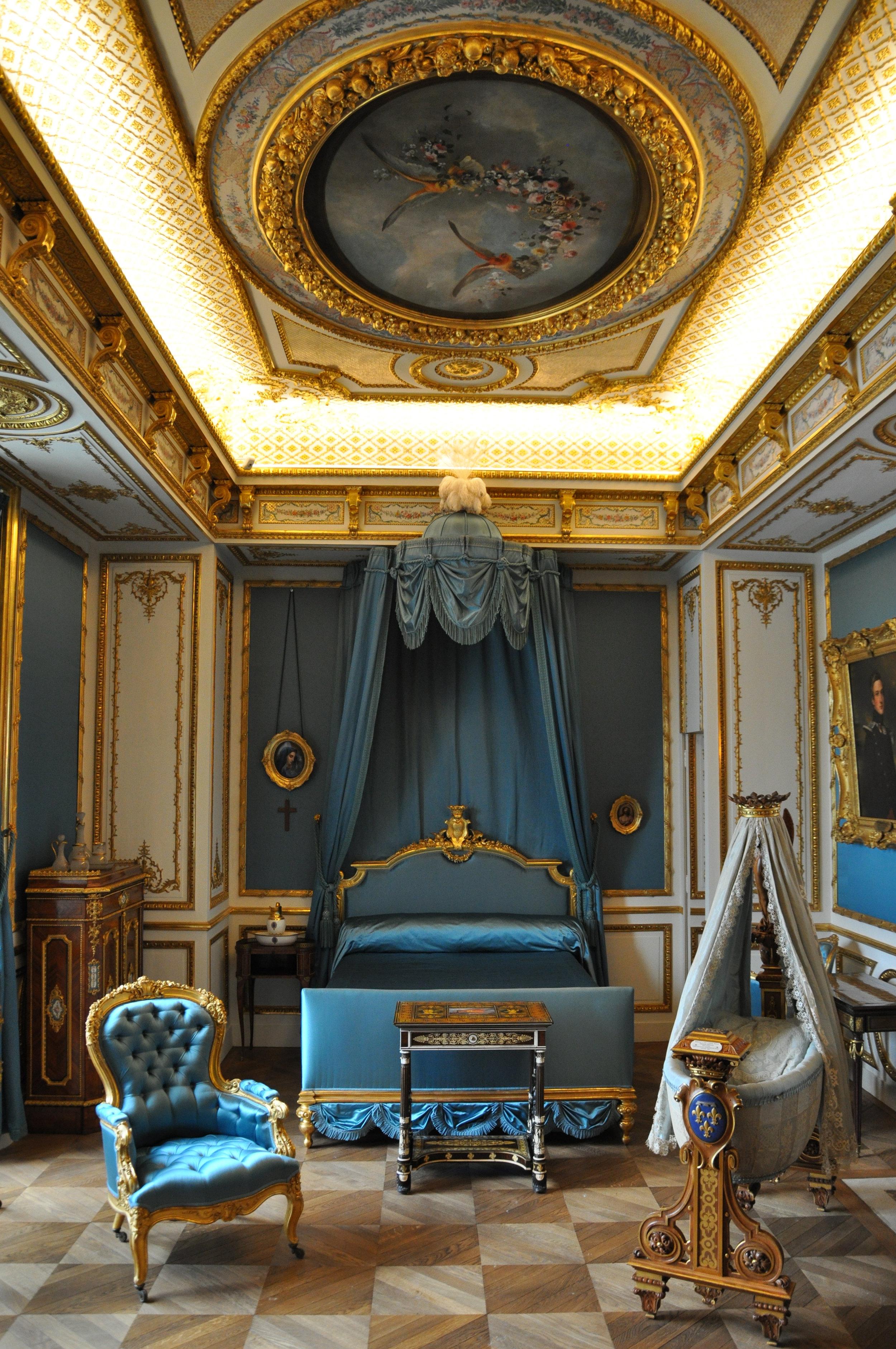 The Duchess' bedroom © Grand Palais Domaine de Chantilly