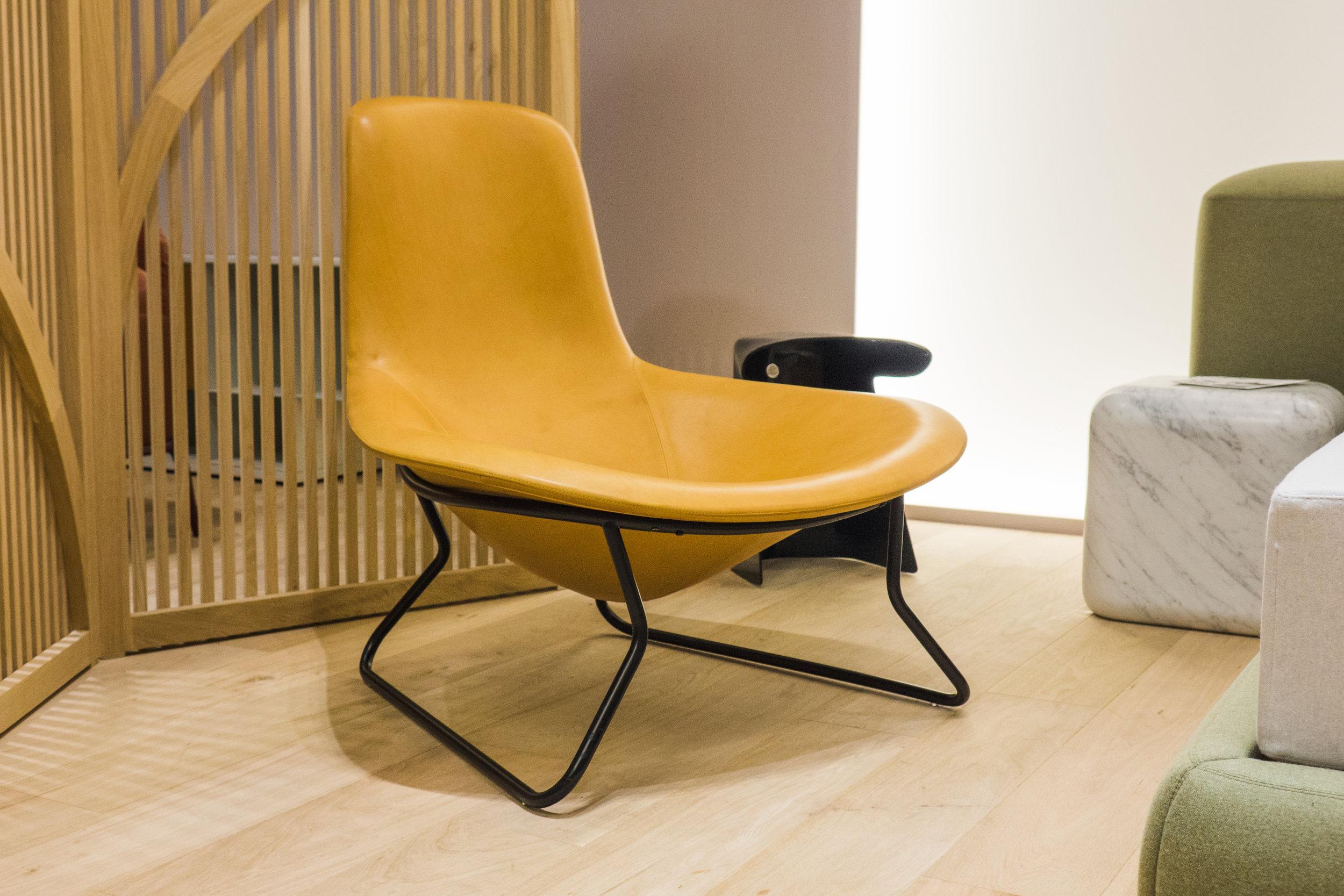 Medea armchair, Salone del Mobile 2019 ⓒ Amura