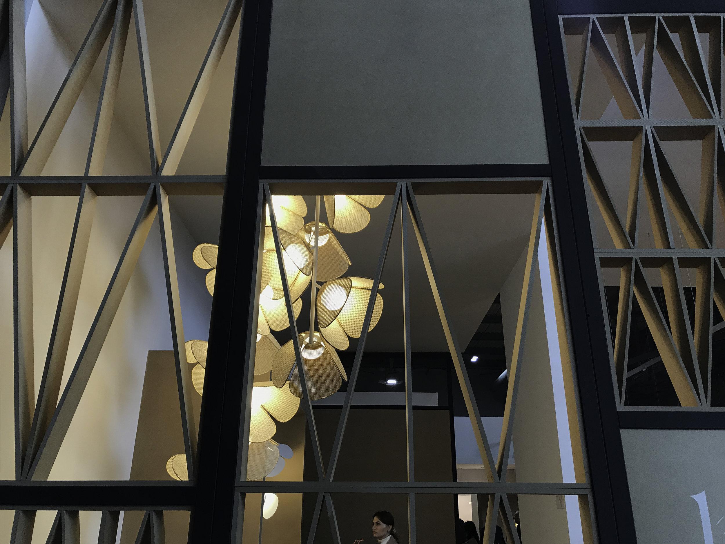 Mod  pendant light, Euroluce 2019 Design: Lázaro Rosa-Violán