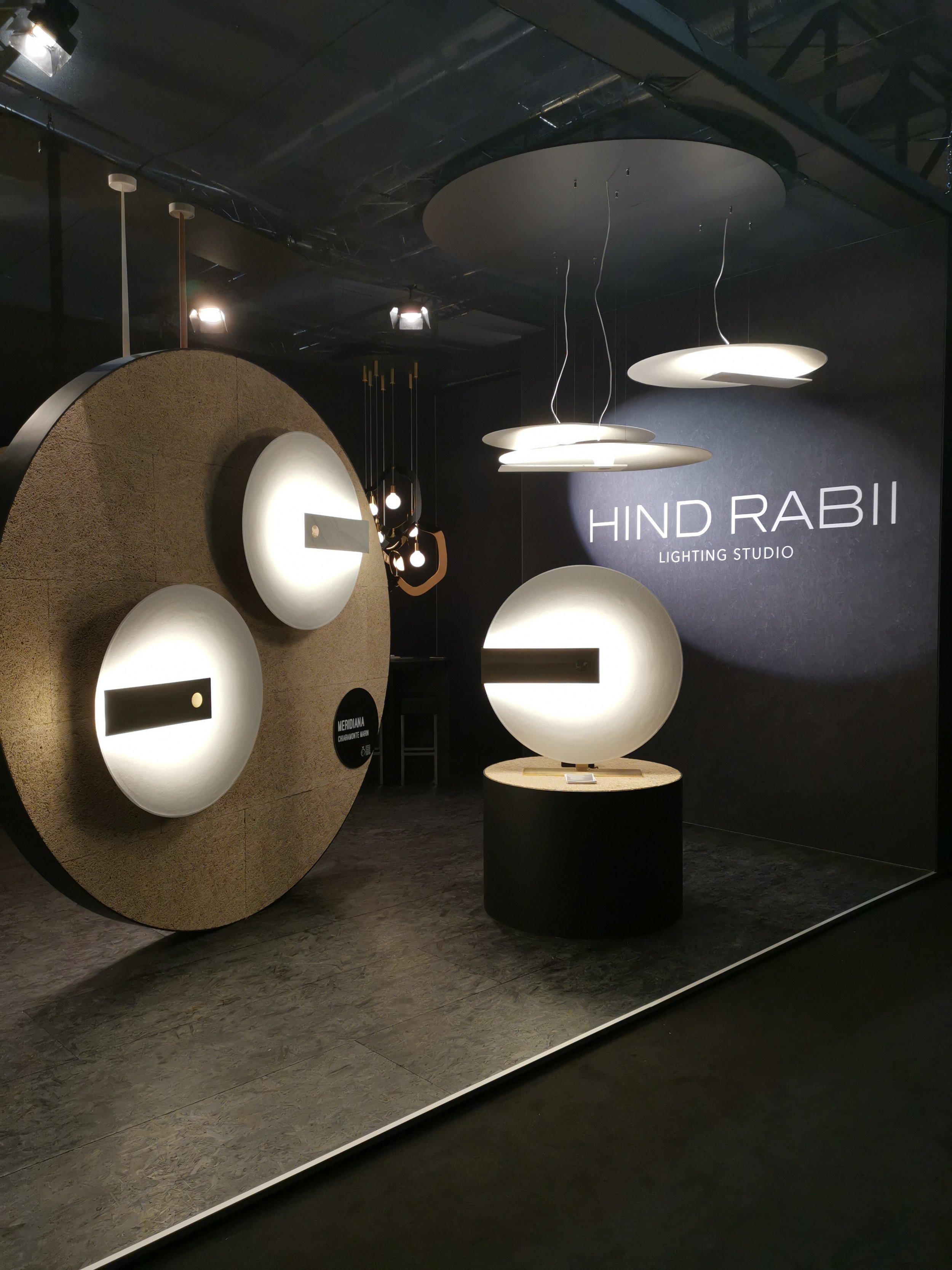 Meridiana , Euroluce 2019 ⓒ Hind Rabii Design: Chiaramonte Marin Studio