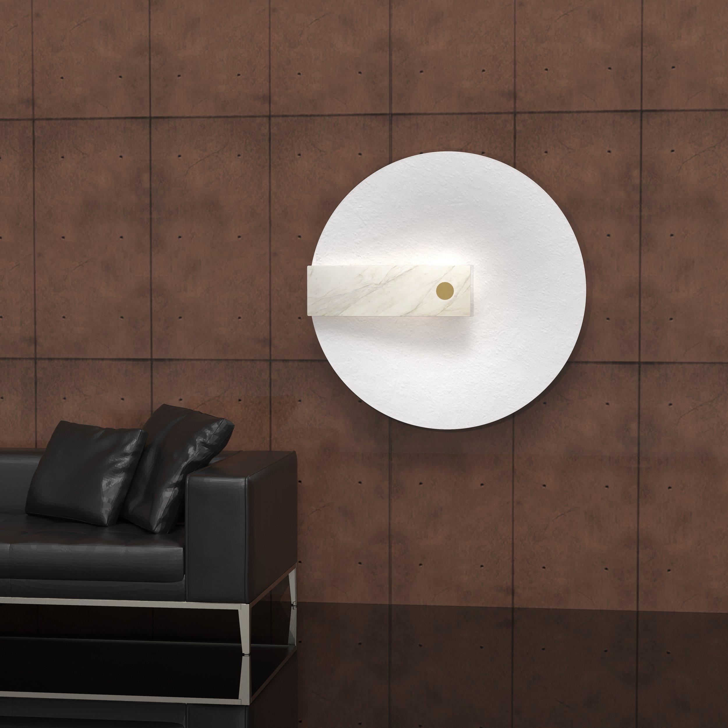 Meridiana  wall light ⓒ Hind Rabii Design: Chiaramonte Marin Studio