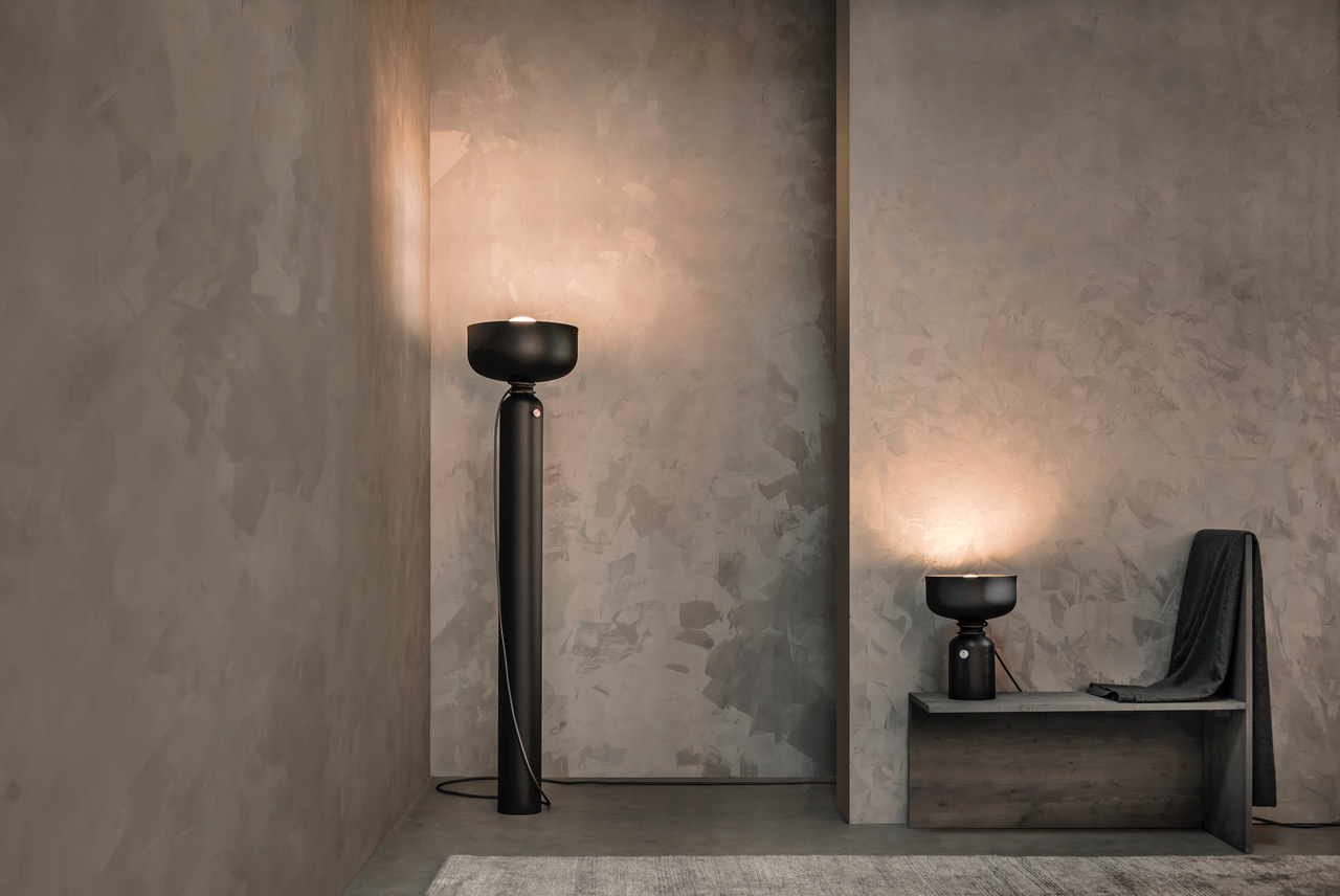 Spotlight  floor and table lamps, 2019 ⓒ Andre Paul Pinces Design: Lukas Peet