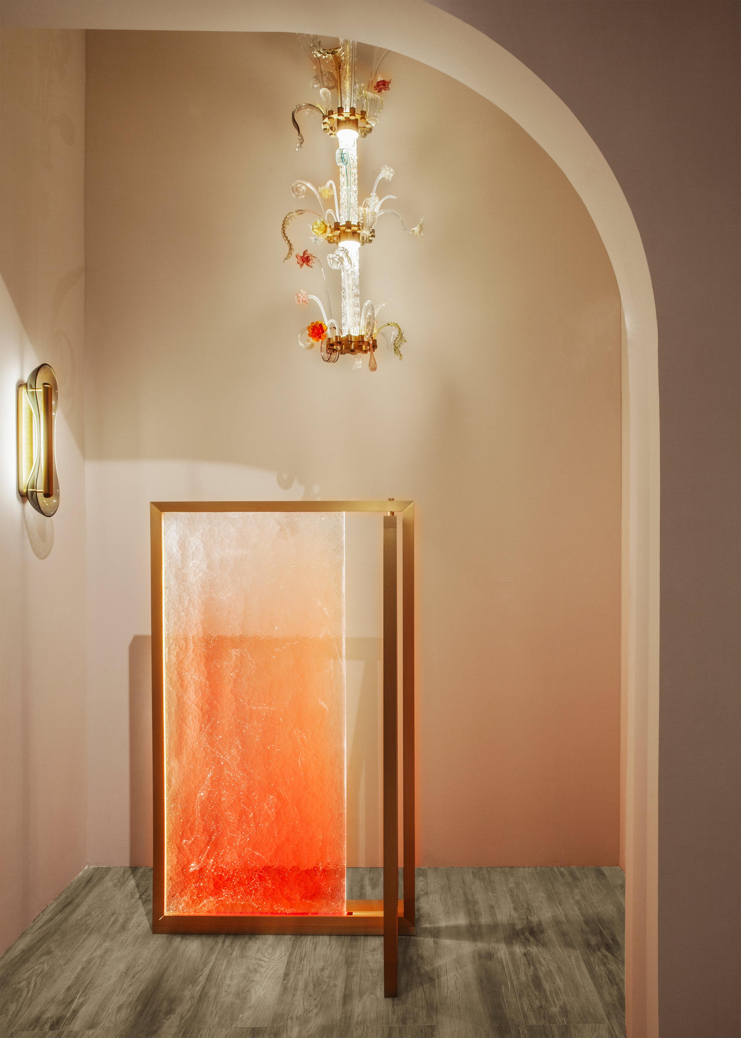 Paralight  screen, Euroluce, 2019 ⓒ Veronese Design: Isabelle Stanislas